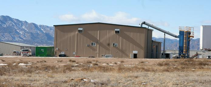 Applegate Insulation's newest cellulose insulation plant in Colorado!